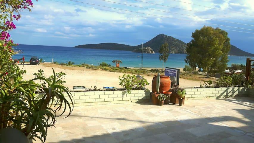 On the golden beach seaside  house! - Τολο  - Lägenhet