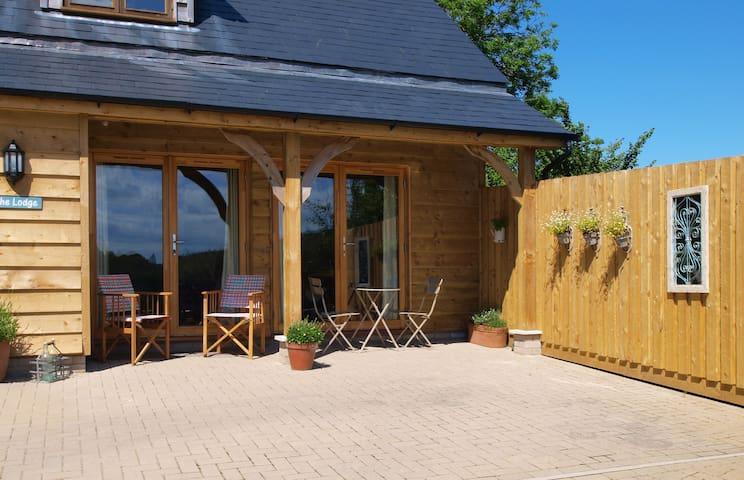 The Lodge a luxury woodland retreat - Braunton - Cabin