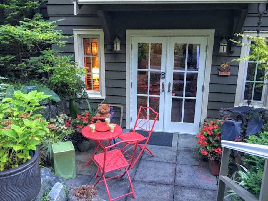 Morning Coffee on your patio