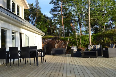 Villa near Stockholm - amazing view - Boo