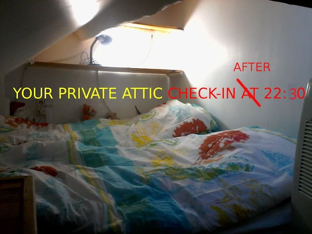 sleeping-accommodation for not-picky people 22:30