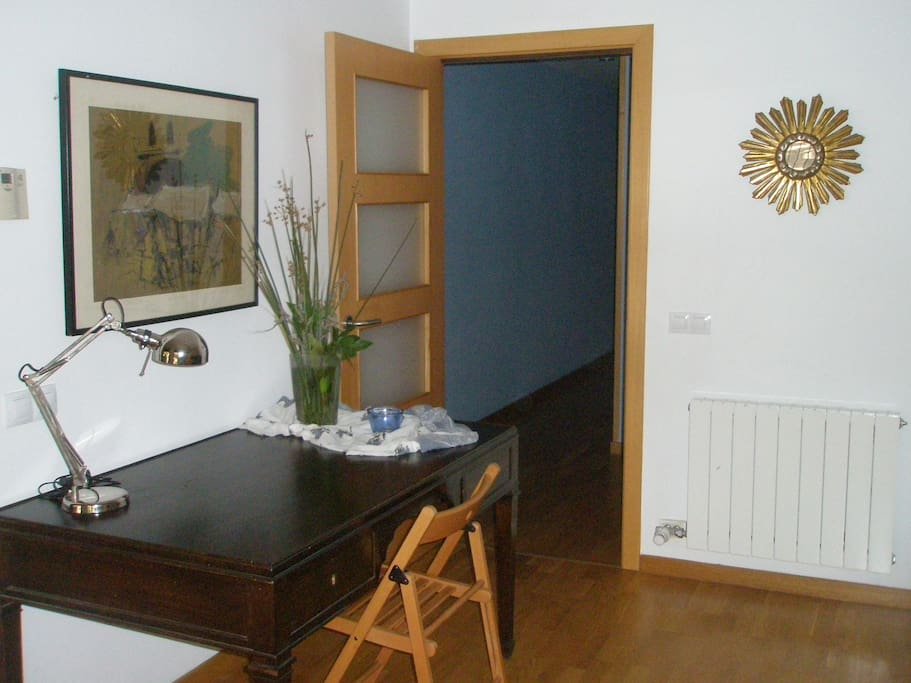 Appartment with garden near lake