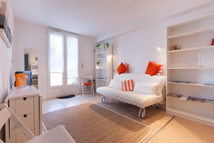 Bord de mer- coquet et tt confort ptt appartement