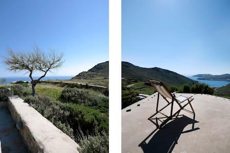 AMZNG 180 SEA VIEW/BEST LOC/ESTATE HOME/SERIFIANS - Vagia - Villa