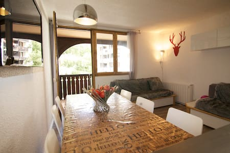 Great flat in Chamonix for 1 to 4!