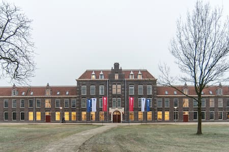 Renovated army base | Heritage site - Ede