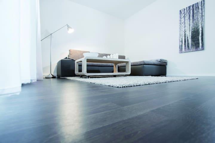 Modernes Wohnen im Mehrfamilienhaus