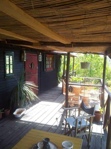 Rustic wooden cabin - São Bartolomeu de Messines - House