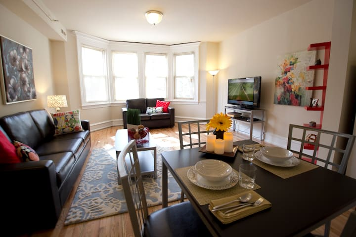 Beautiful 1 Bed Apartment - Philadelphia - Byt