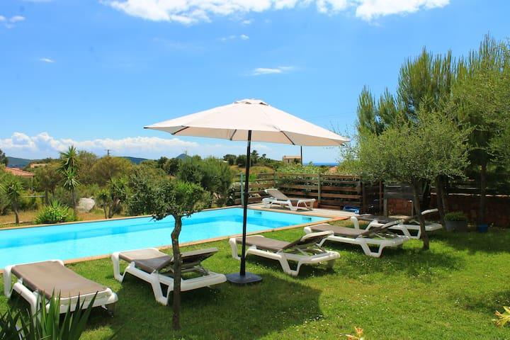 Bergerie Dominicci vue piscine - Figari - Altres