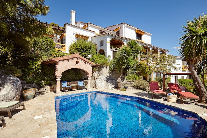 Stunning villa with private pool in Andalucia.