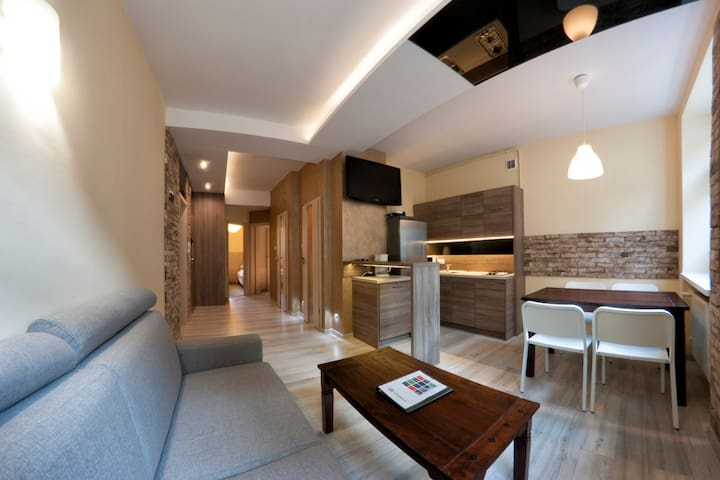 Yourplace Kazimierz/ 3 bedroom Apartment, balcony