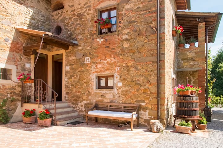 Casa Margherita Tuscan Farmhouse  - Bucine - Appartement