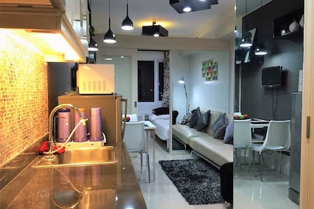 Modern Interiored 1BR in Sea Residences MOA - Pasay