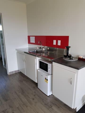 Kitchen in Travelers Unit