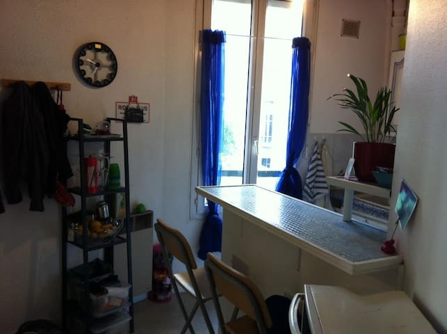 Studio 15m from Eiffel Towel Paris - Issy-les-Moulineaux - อพาร์ทเมนท์