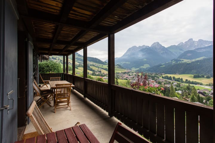 Porch with amazing views!