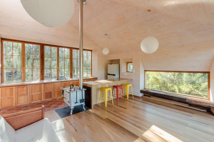 Preciosa y romántica Casa en el Bosque.