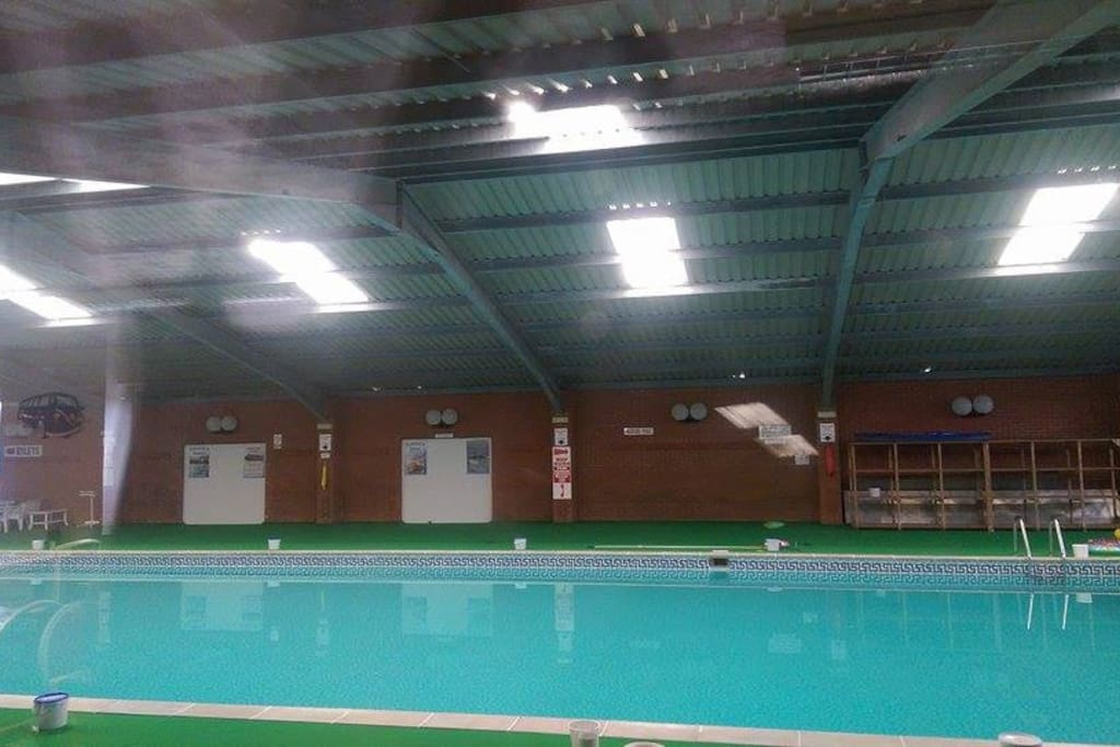 Prices are inclusive of entry into the heated swimming pool.