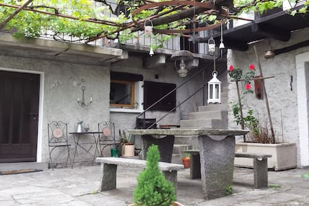 "Cute and typical House ""Rustico"" - Berzona (sopra Gordola) - 獨棟"