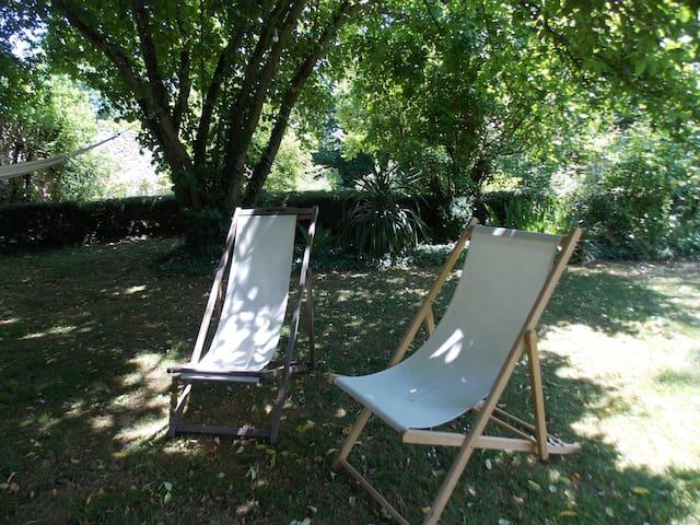 """Une chambre """"au jardin"""" - FONTAINE CHAALIS"""
