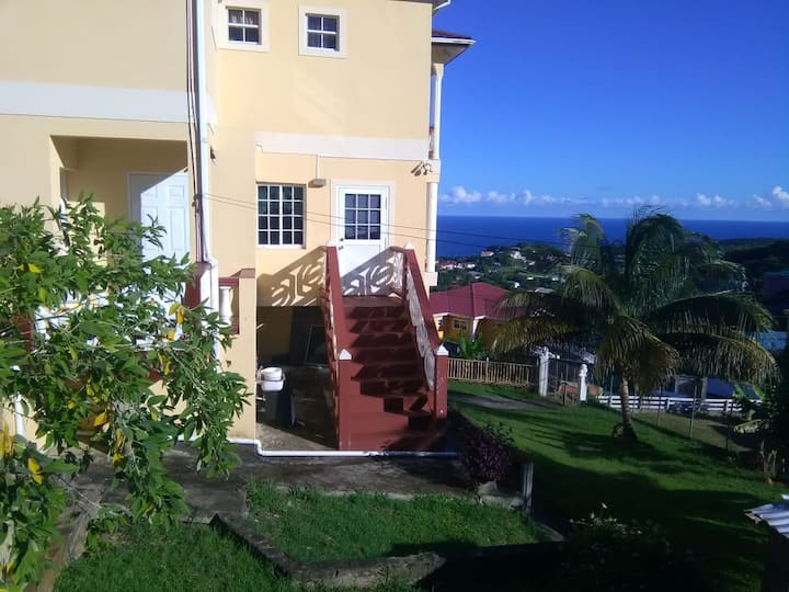 Oceanview Apartments, Harmony Hall, St. Vincent