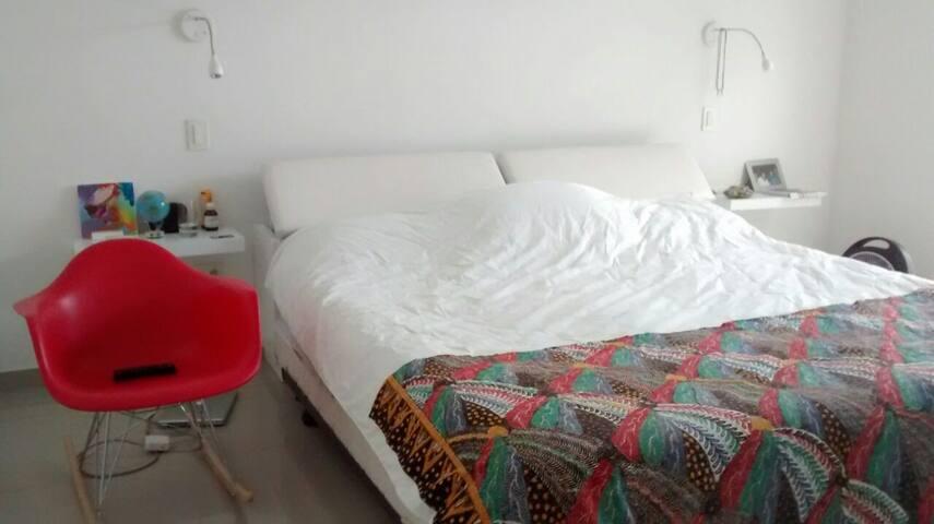 Habitación amplia en casa campestre - Jamundí - Huis