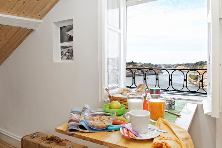 Stunning view over Porto and Douro - Vila Nova de Gaia - Apartamento