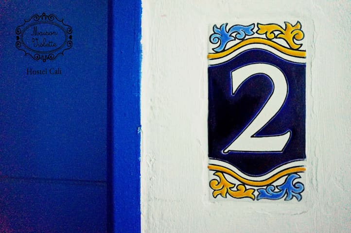 Entrance to #2