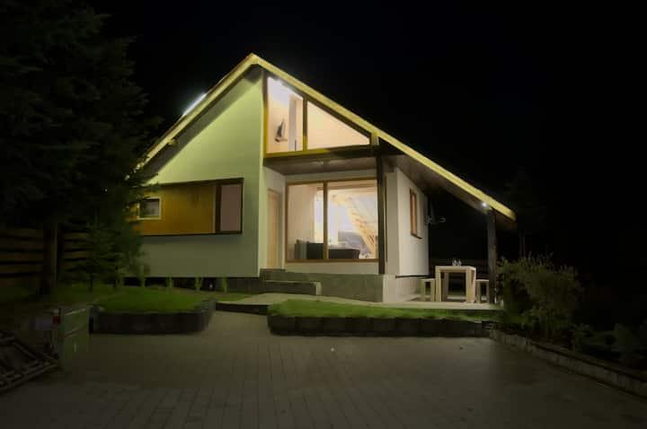 Komfortowy całoroczny domek na szlaku  Beskidy