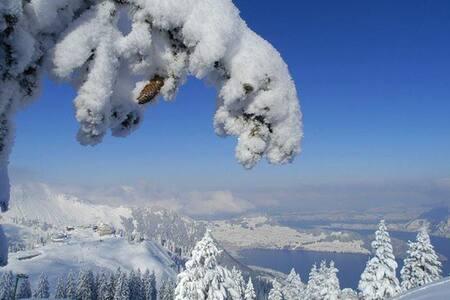 Ferienhaus unmittelbar im Familien Skigebiet - Emmetten