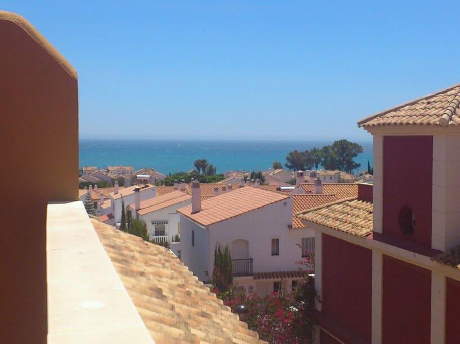 Vistas desde el Solarium (foto tomada al mediodía).