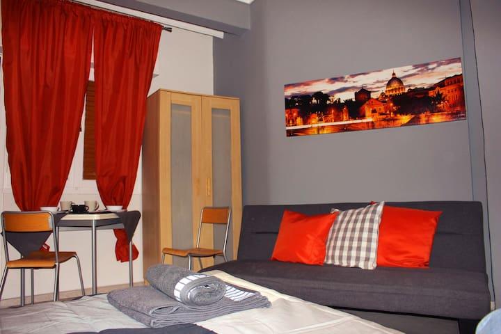 Amazing Modern Studio - Thessaloniki - Thessaloniki - บ้าน