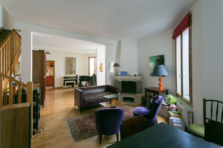 Maison familiale à Alesia - Paříž - Dům