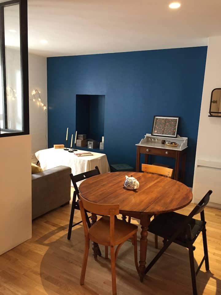 Petit appartement proche des plages et du centre