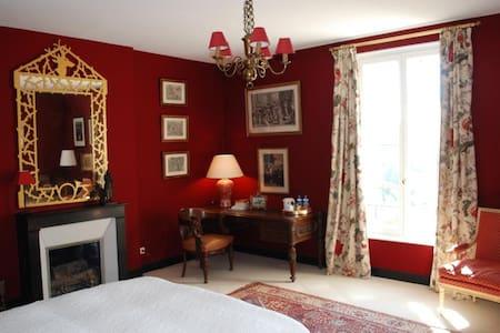 La Couronne - Chambre SAINT HUBERT - Saint-Pierre-Aigle - Bed & Breakfast