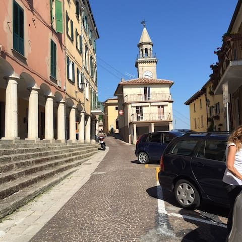 Deliziosa casa B.go Maggiore centro - Borgo Maggiore - Apartemen