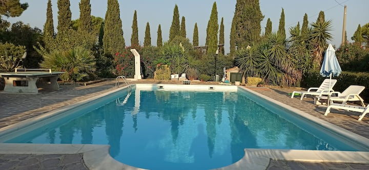 Casale Degli Oleandri - Villa Con Piscina