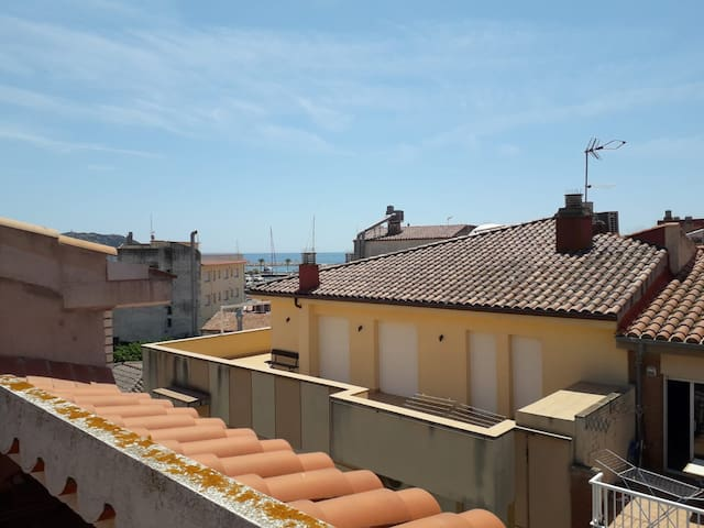 Centric flat with panoramic see view