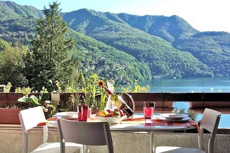 View+parking+lift: enjoy Como lake! - Pognana Lario - Apartmen