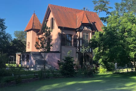 Villa Maria, a fairy tale house in Alsace