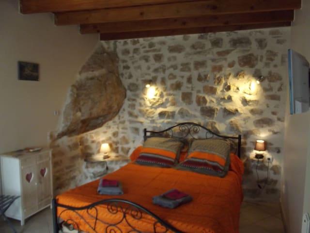 Chambre au calme vue panoramique sur Salagou