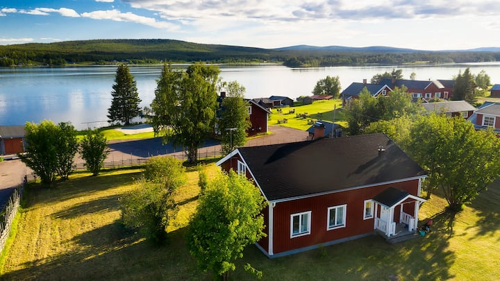 Cosy house – fantastic location Jukkasjärvi