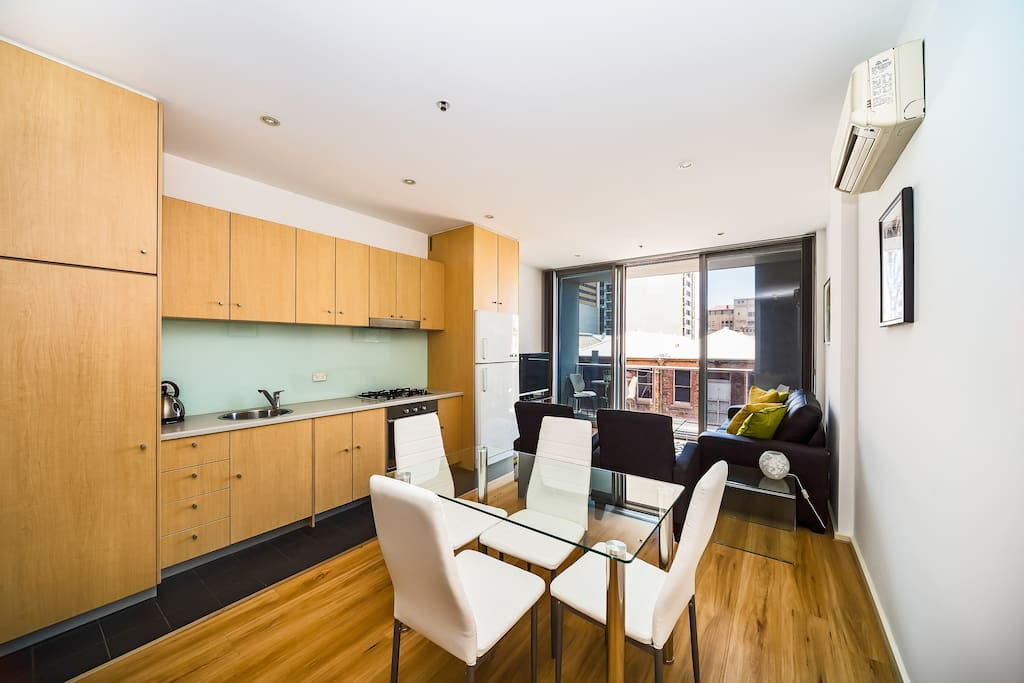 """""""Great location near Rundle Mall and plenty of food places in the heart of the city. Will definitely go back!"""" -  Julia"""