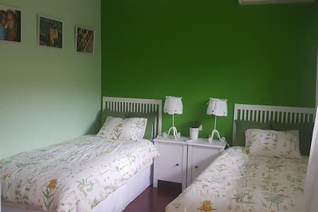 Beautiful twin bedroom in a luxury house - Villaviciosa de Odón - Dom