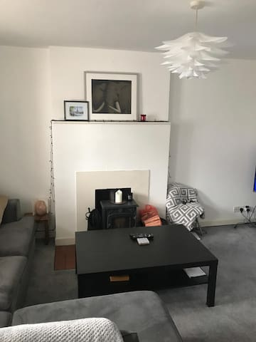 In a great location:  10 minute walk to city, .