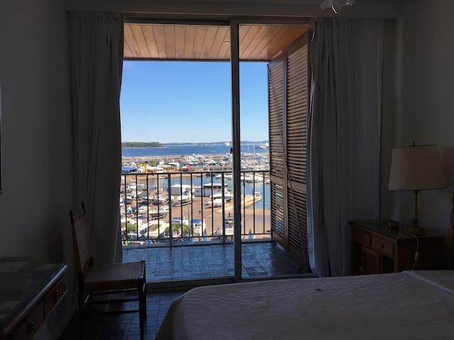 vista desde el dormitorio 1