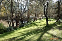 Ovens River down the bottom of the garden