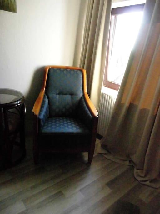 Gemütlicher  Sessel  zum Tv  sehen