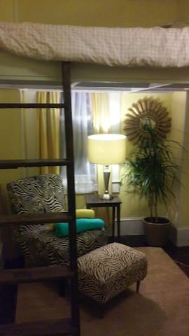 Small Cozy Room in Beautiful House with Loft Bed - Newport - Casa